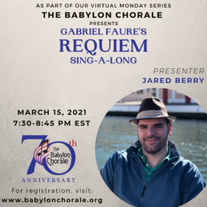 "Faure ""Requiem"": Sing-a-long"